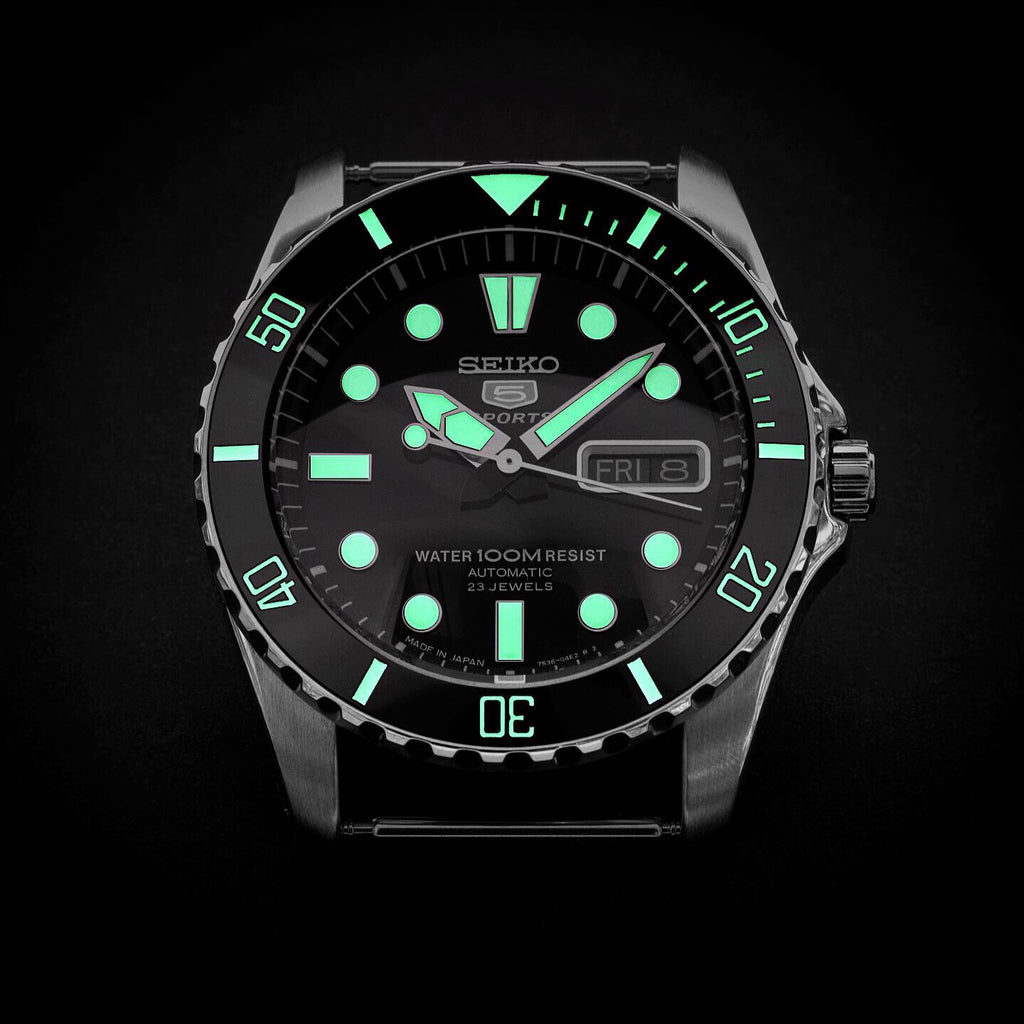 Ceramic Insert - Urchin Sub Black - Luminous Green