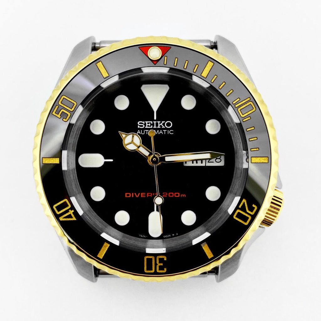 Ceramic Insert - 007 Sub Red T Black X Gold