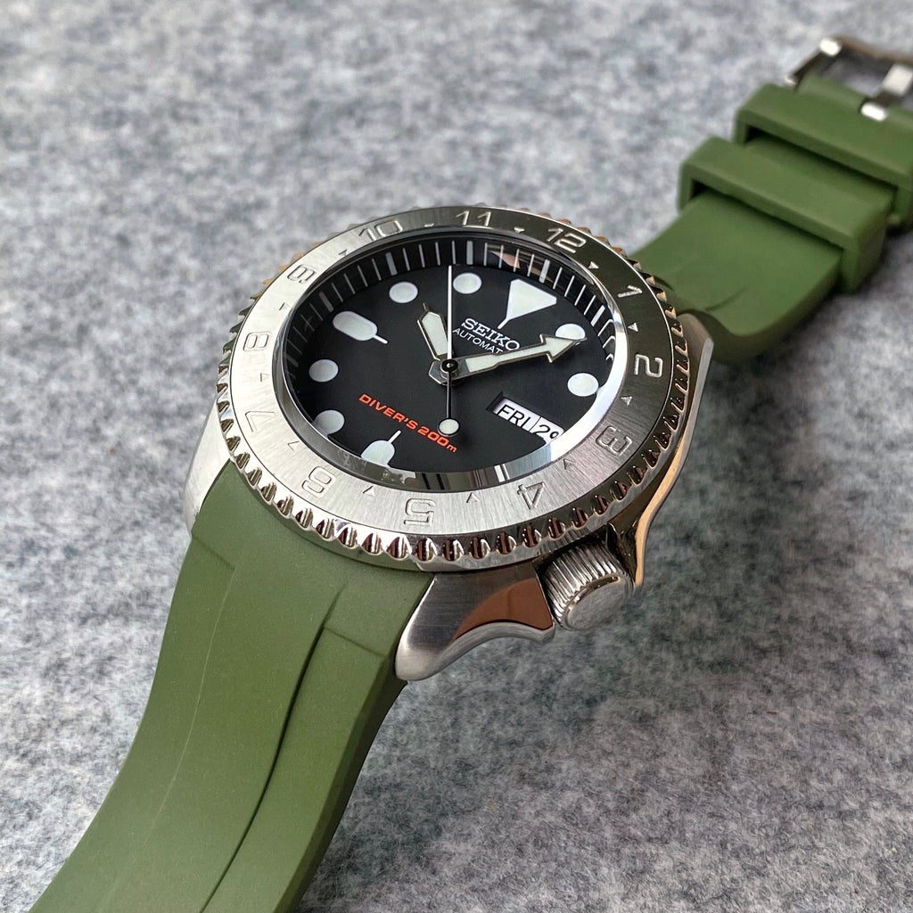 Rubber Strap - SKX007 - Green