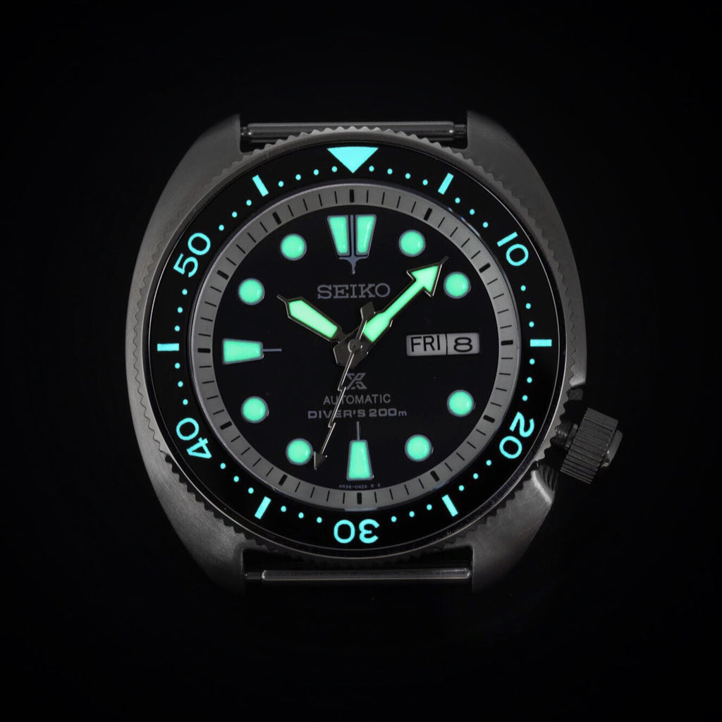 Ceramic Insert - SRP Turtle Black - Luminous Aquaris