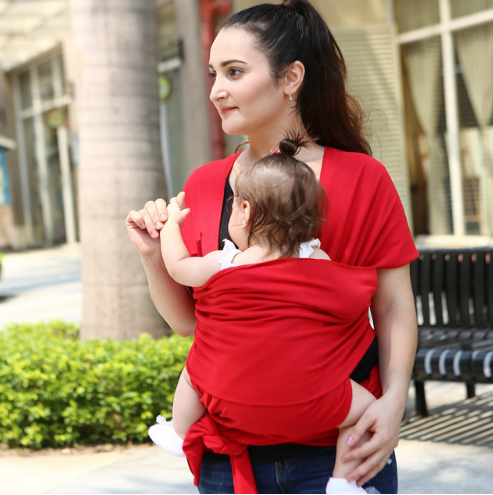 Baby Wrap Carrier- Bright Colour-www.my-baby-world.com