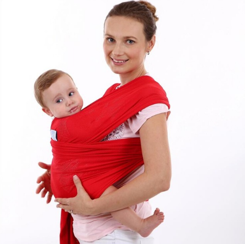 Summer Breathable Baby Wrap Carrier-www.my-baby-world.com