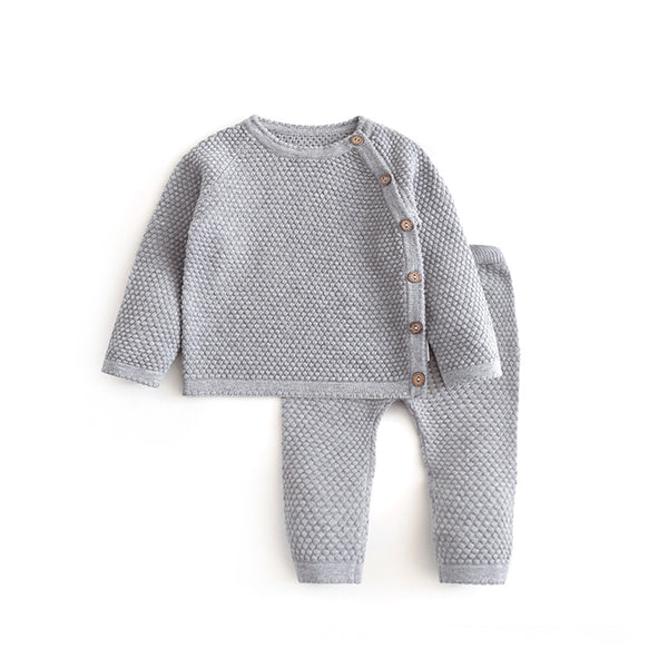 Polka Dot Knitted Cotton Set 6M-3T