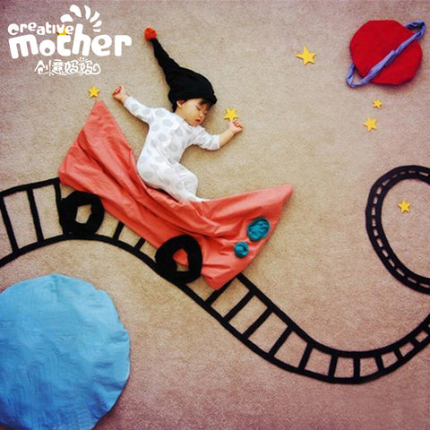 Roller Coaster Baby Photography Set