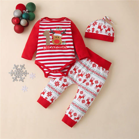 My First Christmas Set E 0-18M