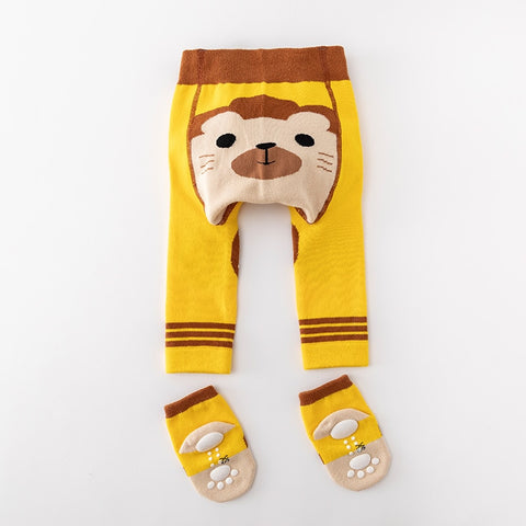 2Pcs/Set Cute Animal Infant Autumn Winter Warm Tight Lion