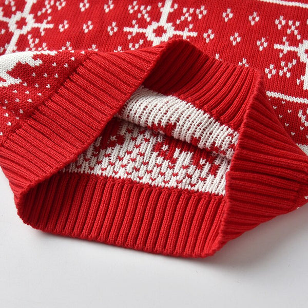 Christmas Design Elk Knitted Toddler Sweaters 1-5T(2 Colors)