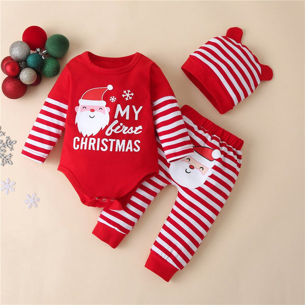 My First Christmas Set D 0-18M