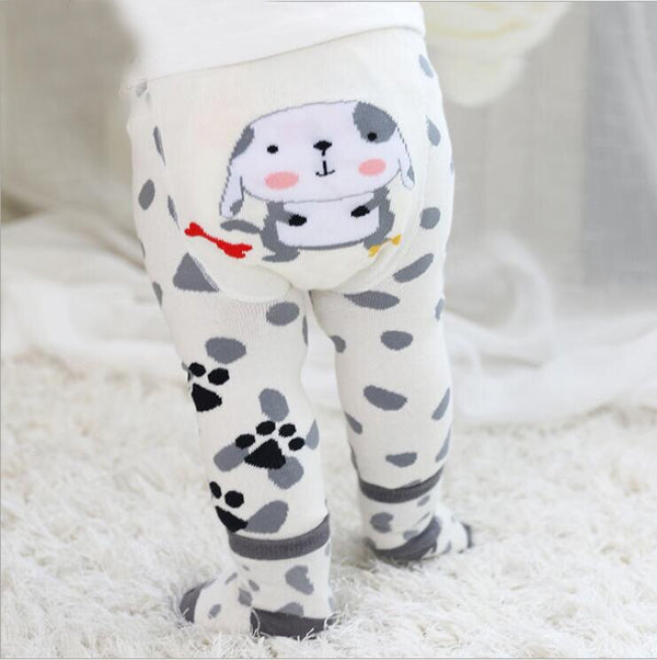 2Pcs/Set Cute Animal Infant Autumn Winter Warm Tight Dalmatian