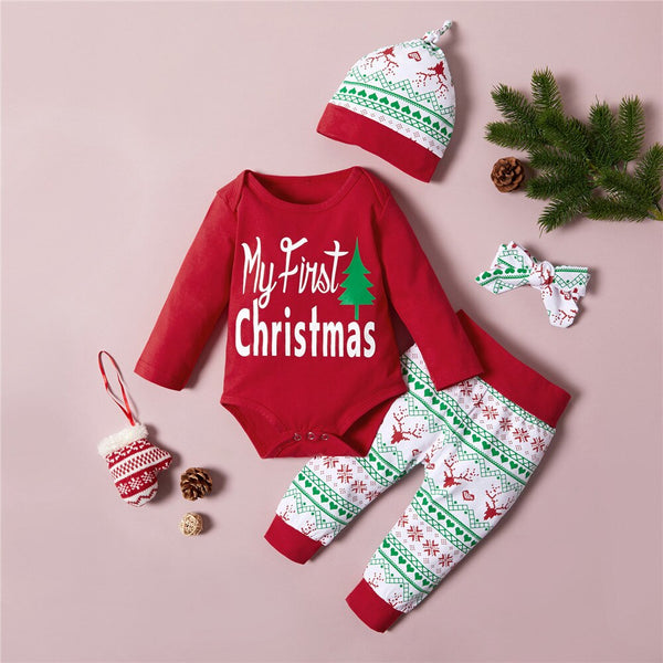 My First Christmas Infant Christmas Set A 0-18M