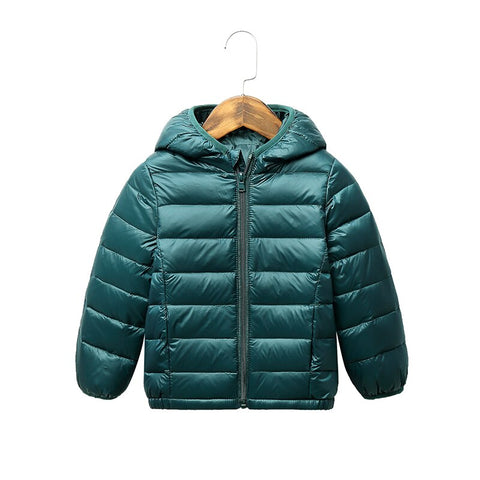 Winter Hooded Jackets 2-9T Boys