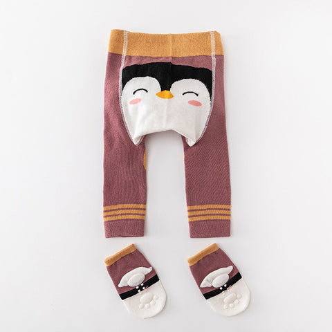 2Pcs/Set Cute Animal Infant Autumn Winter Warm Tight Penguin