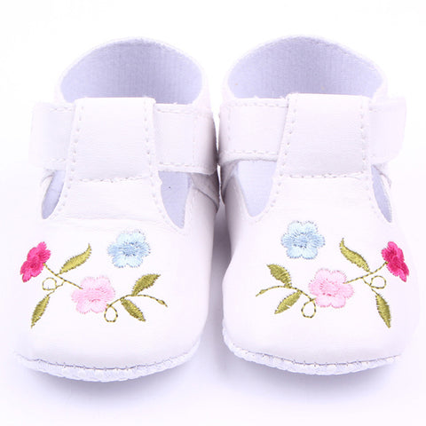 Baby Floral Princess Shoes-www.my-baby-world.com