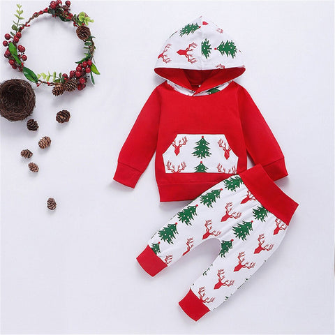 Christmas Tree & Elk Set 0-18M