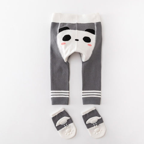 2Pcs/Set Cute Animal Infant Autumn Winter Warm Tight Panda