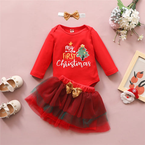 My First Christmas Set C 0-18M