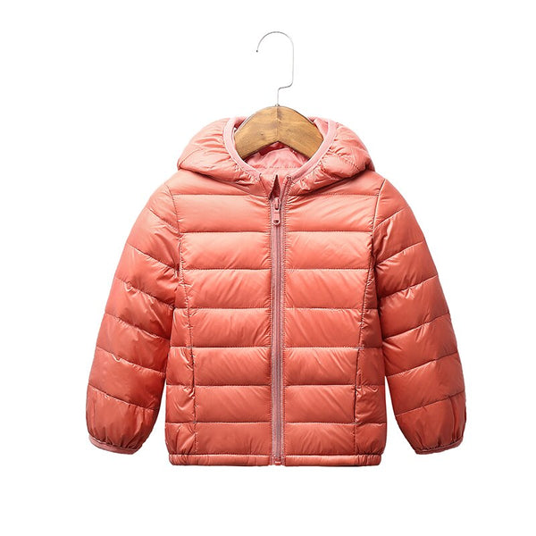 Winter Hooded Jackets 2-9T Girls