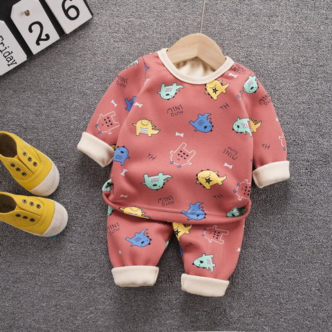 Cute Cartoon Winter Warm Set 2Pcs