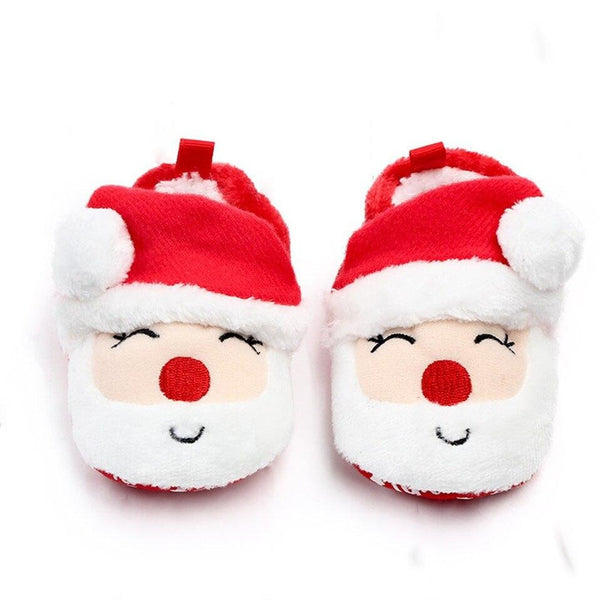 Christmas Anti-slip Infant Indoor Boots 0-18M