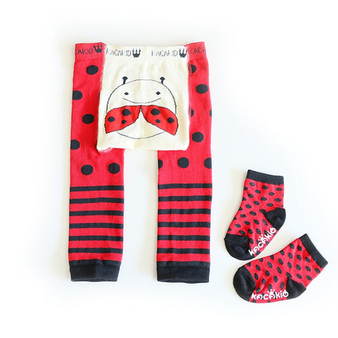 2Pcs/Set Cute Animal Infant Autumn Winter Warm Tight Beetle