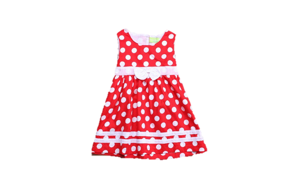 Baby Red & White Dress-www.my-baby-world.com