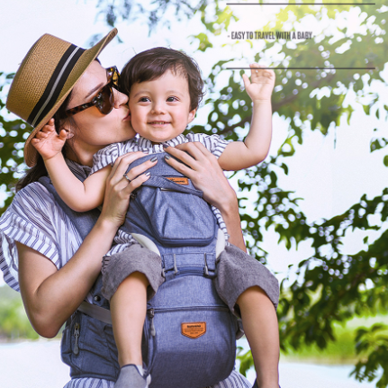 [Worldwide Shipping] Sunveno All-In-One Baby Breathable Travel Carrier