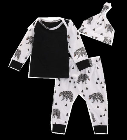 Baby Bear 3pcs Set-www.my-baby-world.com