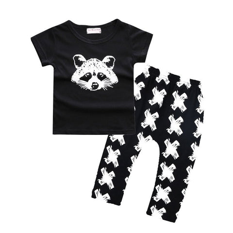 Baby Boy Raccoon 2 pcs Set-www.my-baby-world.com
