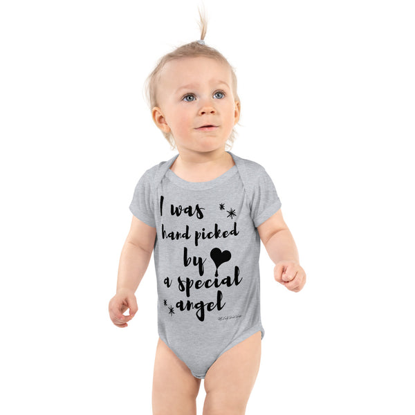 I Was Hand Picked By A Special Angel Infant Bodysuit