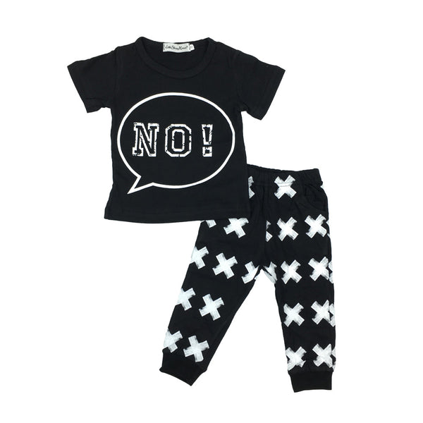 Baby 2pc 'No' set-www.my-baby-world.com