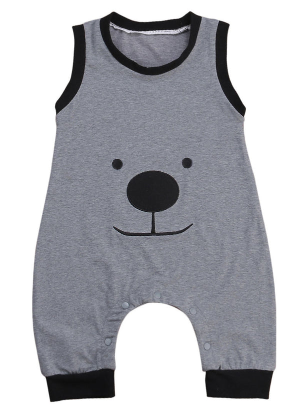Baby Smiley Bear Jumpsuit-www.my-baby-world.com