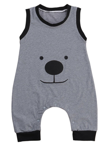 Baby Smiley Bear Jumpsuit