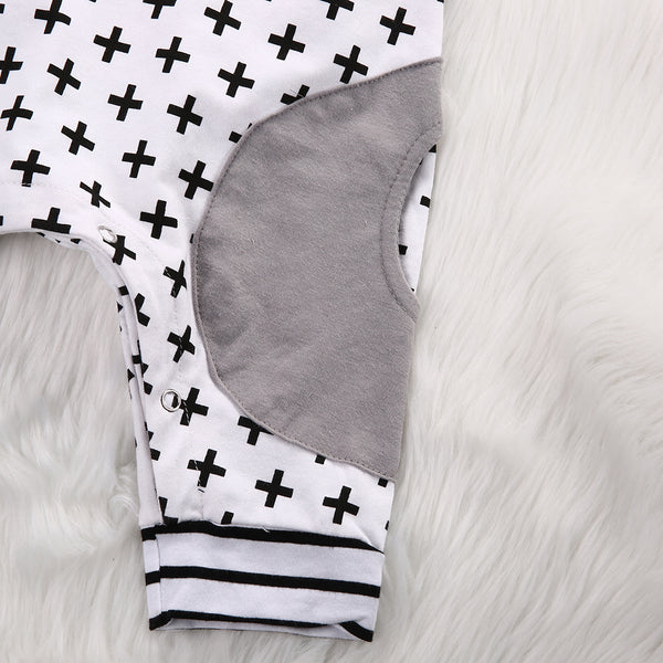 Baby Cross Hoodie Jumpsuit-www.my-baby-world.com