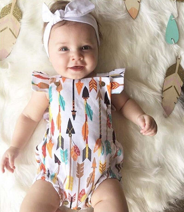 Baby Arrow Bodysuit-www.my-baby-world.com