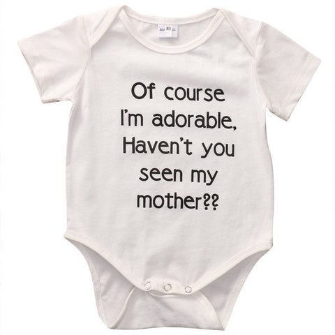 Baby Adorable Mother Onesie