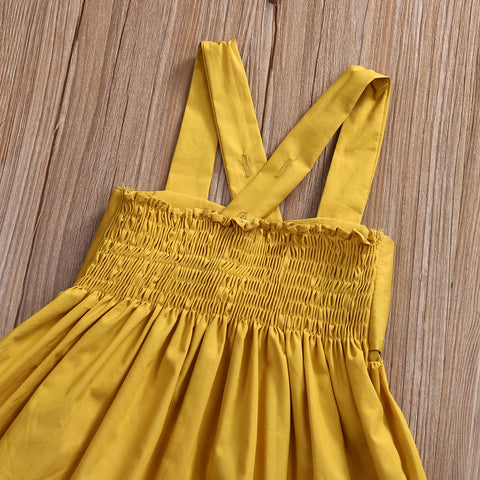 Baby Front Bow Dress-www.my-baby-world.com