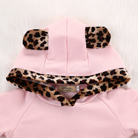 Baby Pink Leopard Hoodie Set-www.my-baby-world.com