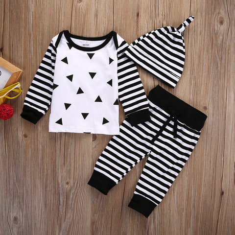Baby Cross / Stripes 3pcs Set-www.my-baby-world.com