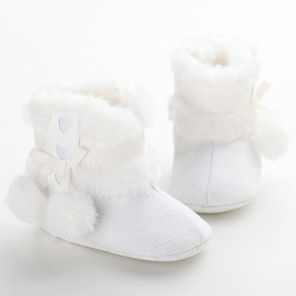 Baby Hearts Pompom Boots-www.my-baby-world.com