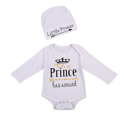 Baby Little Prince Onesie 2pcs Set-www.my-baby-world.com