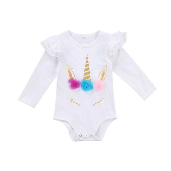 Baby Unicorn Long Onesie-www.my-baby-world.com
