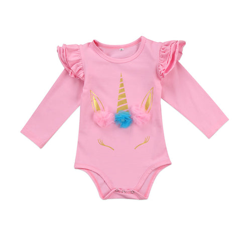 Baby Unicorn Long Onesie