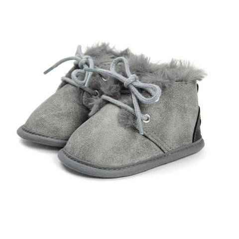 Baby Fluffy Moccasin Shoes