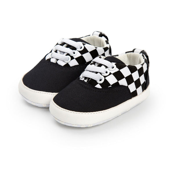 Baby Plaid Cool Sneakers-www.my-baby-world.com