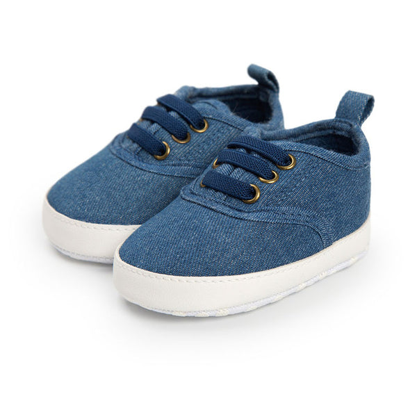 Baby Denim Cool Sneakers-www.my-baby-world.com