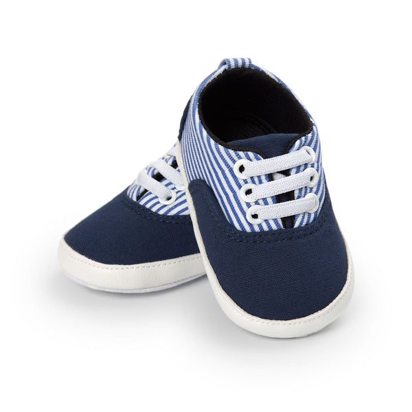 Baby Striped Cool Sneakers-www.my-baby-world.com