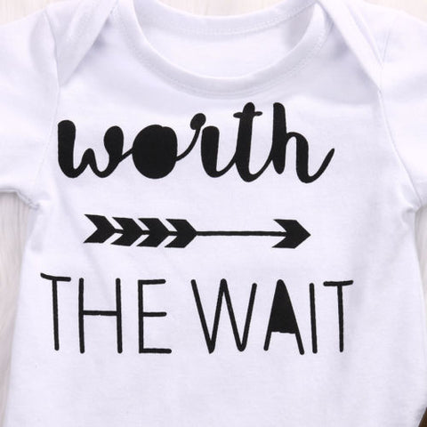 Baby Worth The Wait Camo 3pcs Set-www.my-baby-world.com