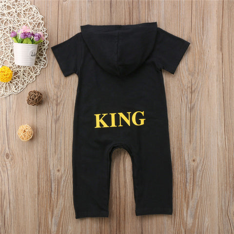 Baby King Hoodie Jumpsuit-www.my-baby-world.com