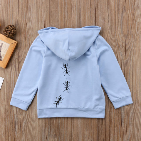 Baby Ants Hoodie Jumper-www.my-baby-world.com