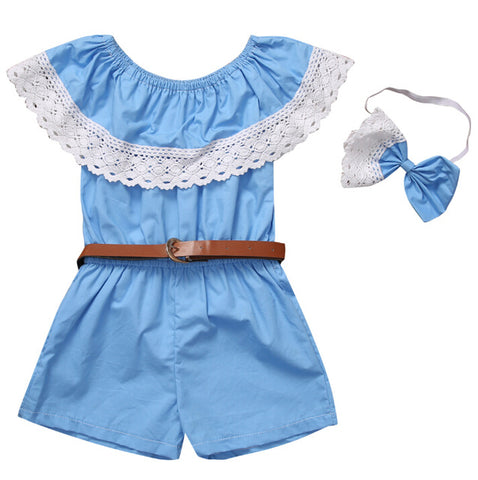 Baby Cute Romper 2pcs Set